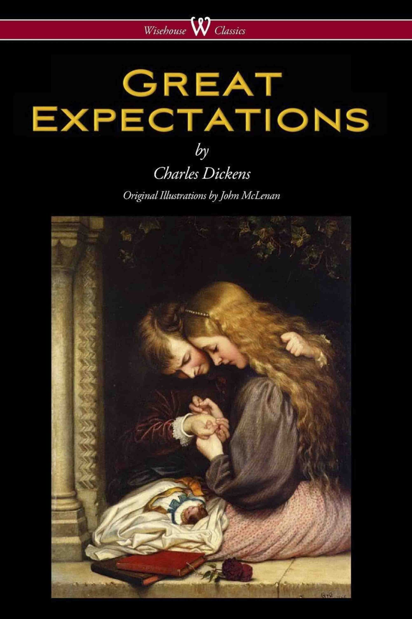 Great Expectations (Wisehouse Classics – with the original Illustrations by John McLenan 1860)